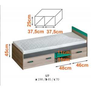 Ultimo Single Bed 7