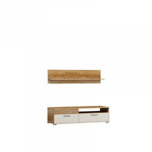 Luigi TV Stand 125 with Wall Shelf Fast Delivery