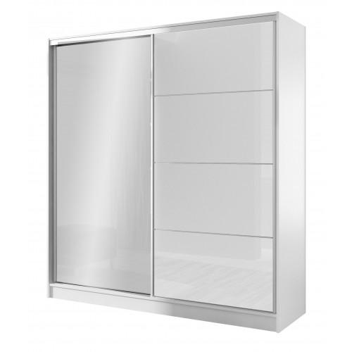 Wardrobe WIKA 203 White / White