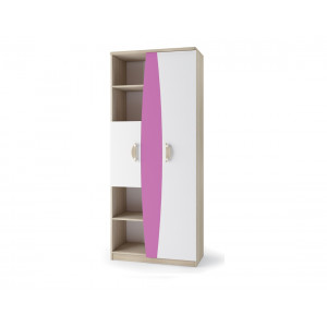Nelson Double Cabinet Pink