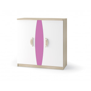 Nelson Chest of doors Pink