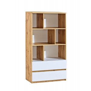 Arca Bookcase 80 With Drawers