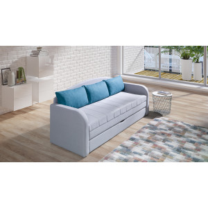 Nelson Sofa Bed Turquoise