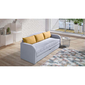 Nelson Sofa Bed Yellow