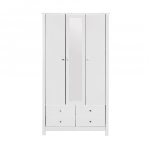 Florence wardrobe with mirror 100