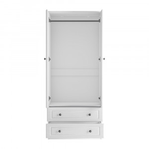Hampshire wardrobe with 2 drawer 80