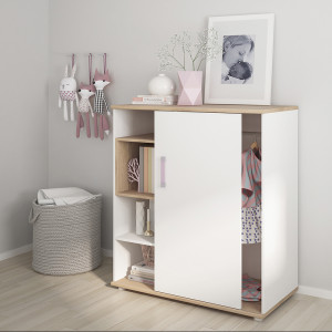 4KIDS SET 1 - Single Bed with under drawer and low cabinet