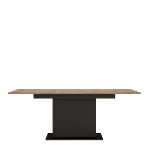 Brolo Extending Dining Table + 4 Chair Black Fast Delivery