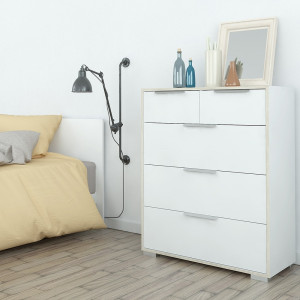 Line Chest of 5 Drawers (2+3)
