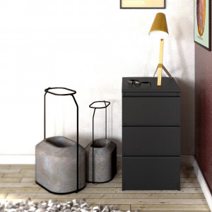 Naia Bedside - 3 Drawers