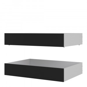Naia Set of 2 Underbed Drawers (for Single or Double beds)