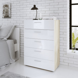 Pepe Chest of 5 Drawers