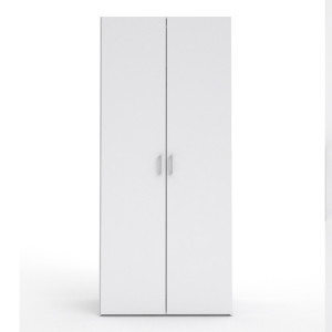 Space Wardrobe with 2 doors White 77