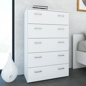 Space Chest of 5 Drawers