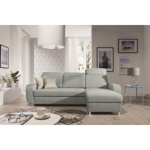 Caro Mint Corner Sofa Bed Fast Delivery