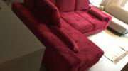 Asti Corner Sofa bed - Malia Shiraz