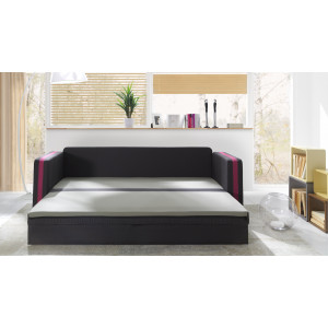Euphoria Duo Pink Sofa Bed Fast Delivery