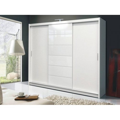 Malibu 250 White Wardrobe