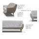 Lux 3 Seater Sofa